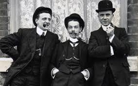 Bărbati care poartă o cravată 1920